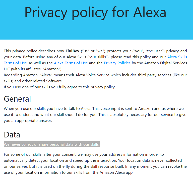 A Privacy & Security Analysis of the Alexa Skill Ecosystem